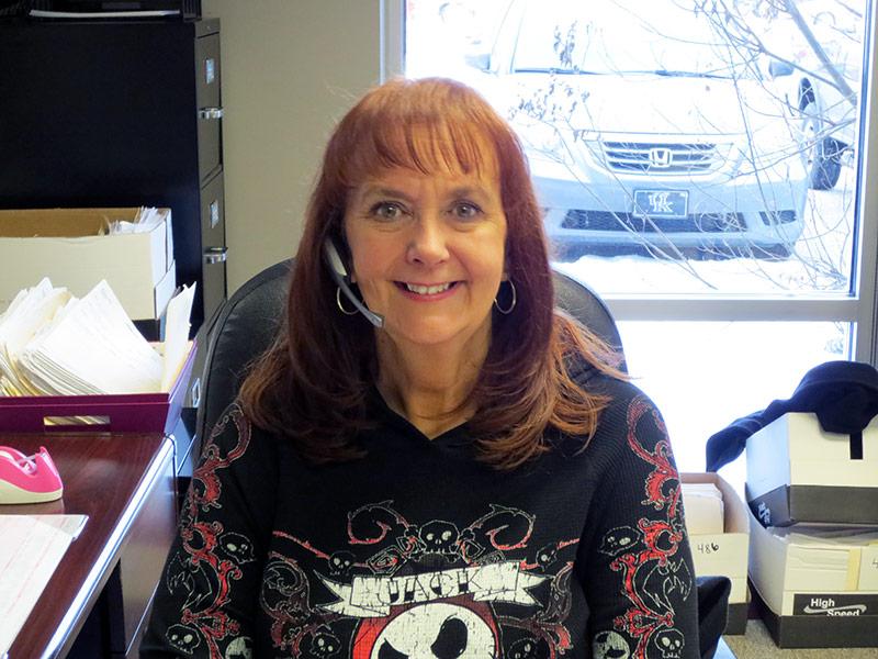 Jan Mills - Receptionist